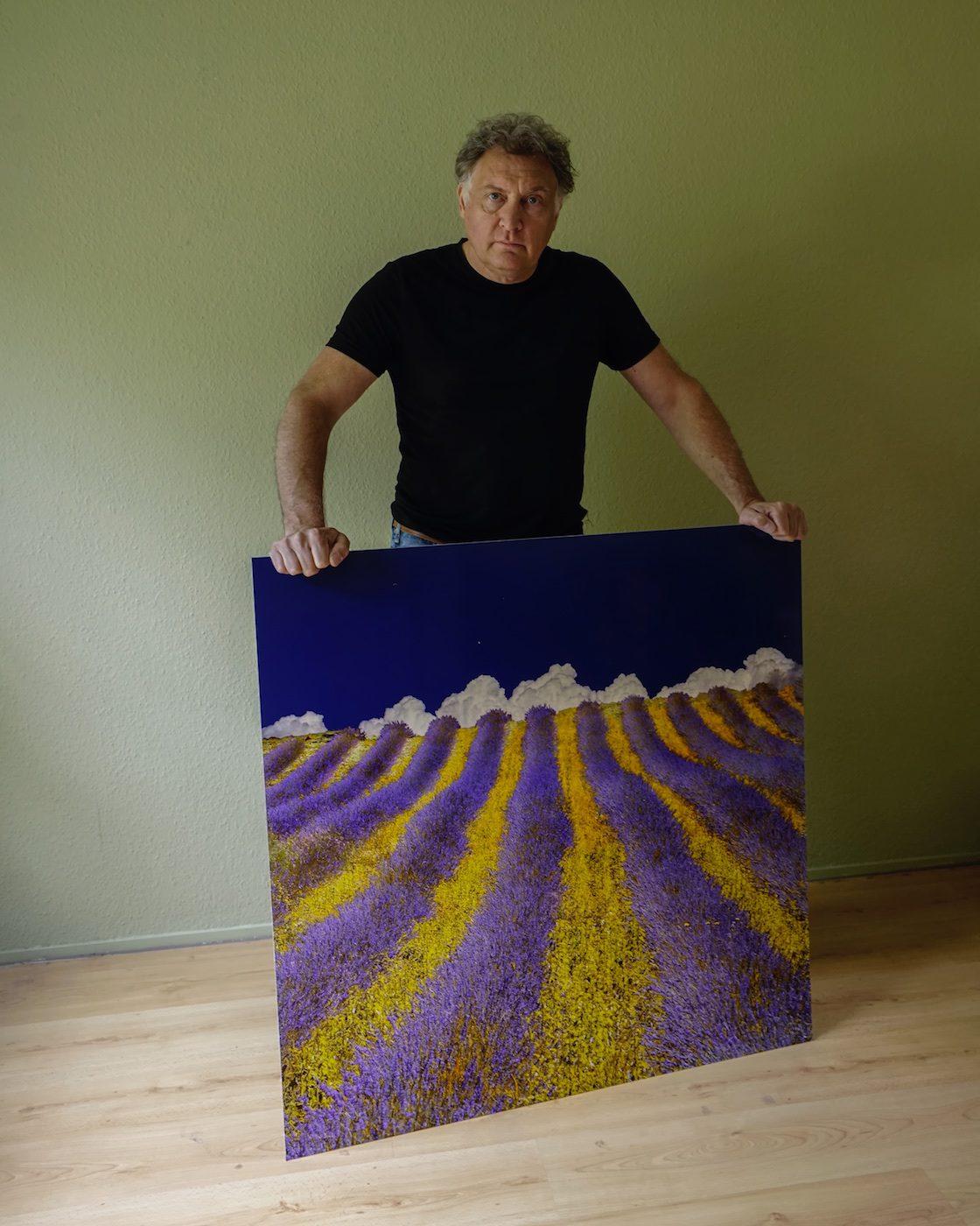 Lavender Heaven op dibond van €550 voor €149 GERESERVEERD