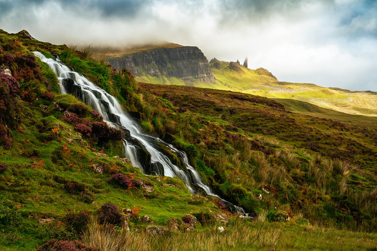 Bride Veils and view on Storr